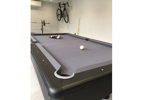 Buffalo   Eliminator 2 (II)   Black & Slate Grey   American Pool Table   7ft & 8ft