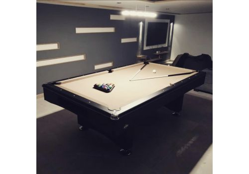 Buffalo | Eliminator 2 (II) | Black | American Pool Table | Elite Pro Camel