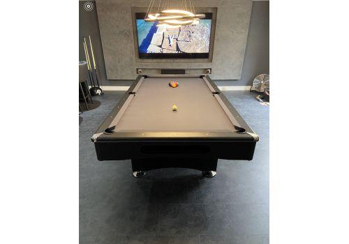 Buffalo | Eliminator 2 (II) | Black | American Pool Table | Elite Charcoal