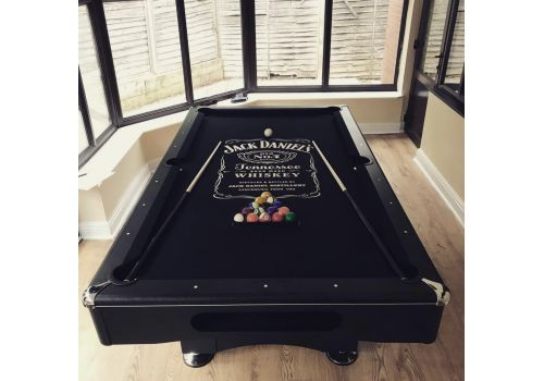 Buffalo | Eliminator 2 (II) | Black | American Pool Table | Elite Jack Daniels