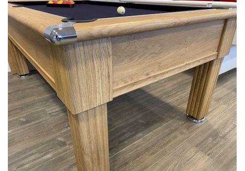 Gatley Traditional Pool Table - Supreme Slimline Prince Pool Table Oak Royal Navy