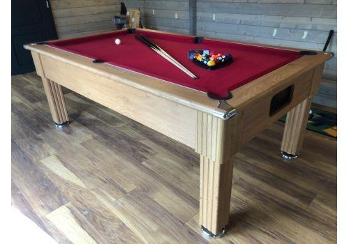Gatley Traditional Oak Slate Pool Table 6ft & 7ft