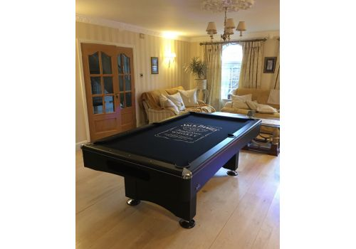 Buffalo | Eliminator 2 (II) | Black | American Pool Table | Elite Jack Daniels