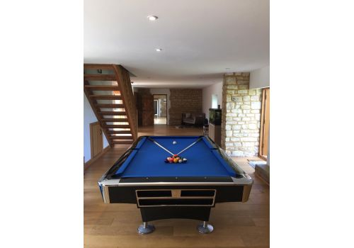 Buffalo Pro 2 (II) - Gloss Black - American Pool Table - 8ft & 9ft - Standard Blue Cloth