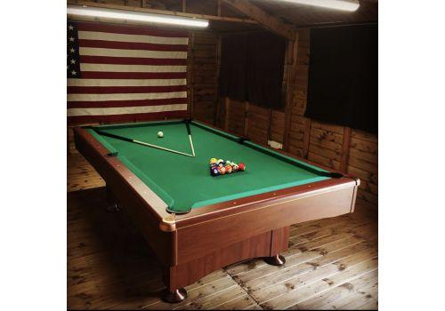 Buffalo   Eliminator 2 (II)   Walnut   American Pool Table   7ft & 8ft