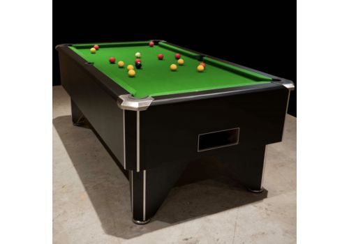 FMF Tournament Pro Black Slate Bed Pool Table