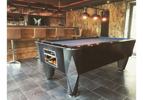 Sam | Atlantic Champion | Matt Black | Luxury Slate Pool Table | 6ft & 7ft Sizes