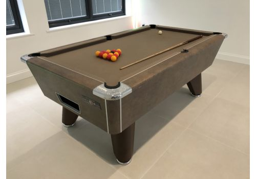Supreme Heywood | Winner | Metallic Copper | Slate Pool Table | 6ft & 7ft | Smart Taupe Cloth