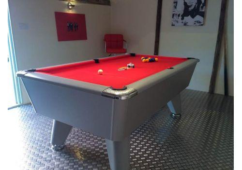 Supreme Heywood   Winner   Aluminium   Slate Pool Table   6ft & 7ft   Smart Orange