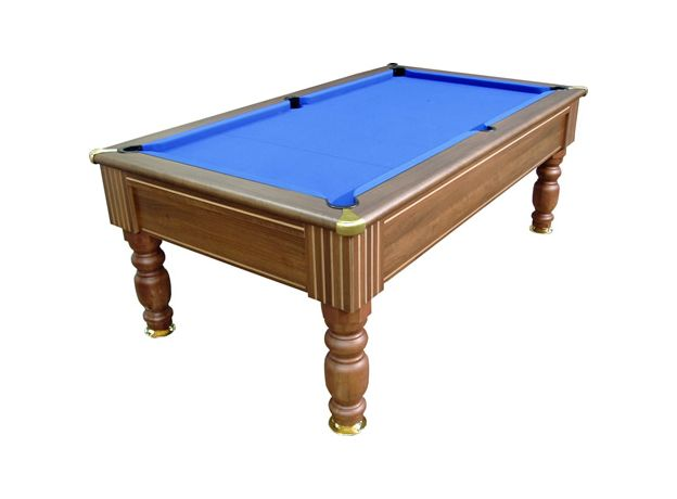 Monaco Dark Walnut Slate Pool Table By Optima Free Delivery - How To Mark A 6ft Pool Table