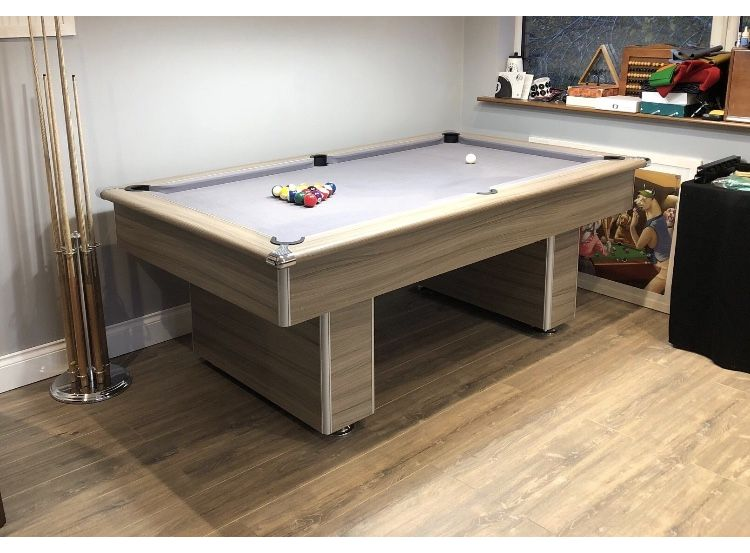 Gatley Classic Slimline Driftwood Slate Pool Table 6ft 7ft - How To Mark A 6ft Pool Table
